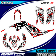 yamaha raptor 700R 700 2006 2007 2008 2009 10 11 2012 decals graphics stickers