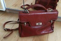 Sac à main   TEXIER en  cuir  TBEG - Vintage bag (années 60-70)