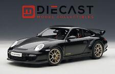 AUTOART 77962 PORSCHE 911(997) GT2 RS (BLACK) 1:18TH SCALE