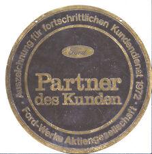 Ford Badge Award for advanced good Customer service 1972 - 195mm