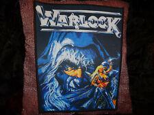 Warlock Backpatch Patch Black Heavy Metal Saxon