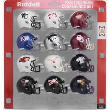 Riddell 2020 NCAA Big 12 Conference Pocket Pro Speed Revolution Mini Helmets Set