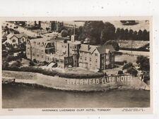 Hardmans Livermead Cliff Hotel Torquay Devon Vintage Aerial RP Postcard 574b