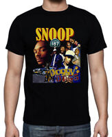 Snoop Dogg Tshirt Snoop Doggy Dogg Hip Hop Rap Vintage Gildan T shirt S - 2XL