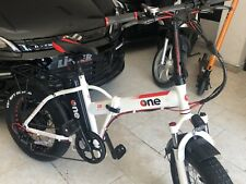 bicicletta elettrica pieghevole E-bike 250 w batterie the one