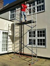 DIY Aluminium Scaffold 5m Reach Height With 4 X Outriggers for Added Safety