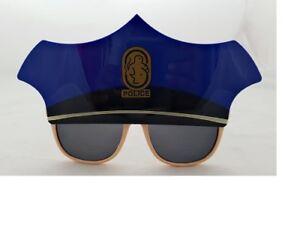 Police Novelty Party Glasses