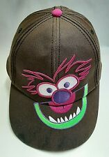 Disney The Muppets Animal BallCap Hat Embroidered Adjustable Snapback Youth/Teen