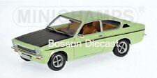 Opel Kadett C Coupe SR Green 1/18 Minichamps 180045625