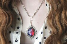 Bed of Leaves Necklace Dragon's Breath Crowned Collectible SALE Grad gift summer