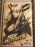 NEW MUTANTS #1 MAGIK STANLEY ARTGERM LAU VARIANT COVER hot character 2020 marvel