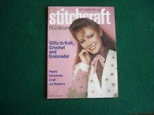 Stitchcraft magazine December 1981  no.576