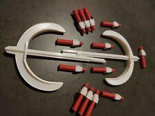 2 Haches 10 Missiles 2 Supports Goldorak Axes Shogun Warrior Grendizer Mattel