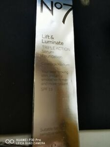 NO 7 LIFT AND LUMINATE TRIPLE ACTION SERUM FONDATION 30ML * SEE SELECTED COLOURS