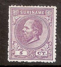 Suriname Nummer  5A   Ongebruikt.