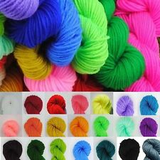 Polyester Soft Chunky Crochet Cotton Knitting Wool Yarn Baby Hand-Knitted Yarn
