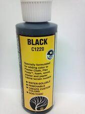 Woodland Scenics Earth Color Pigment Paint BLACK C-1220 Model Trains - New