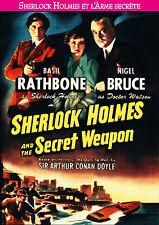 DVD Sherlock Holmes et l'Arme Secrete (and the Secret Weapon) Basil Rathbone