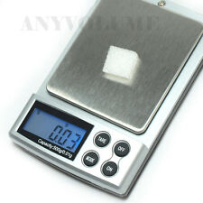 500g x 0.01g Digital Pocket Scale Jewelry Weight Scale Precision 0.01g