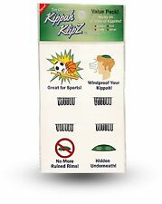Kippah Klipz - Hidden Permanent Yarmulke Clips- Great For Sports -4 Pack