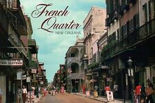 Royal Street, French Quarter, New Orleans LA, Court of Two Sisters etc. Postcard