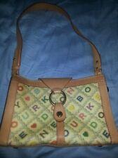 DOONEY & BOURKE Multi Colored Allover Signature Handbag