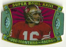 2011 Topps Super Bowl Legends Giveaway Die Cut Joe Montana