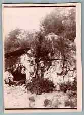 France, Thorenc (Andon), Cantine à Thorenc  Vintage citrate print. Alpes Maritim