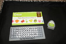Tags Bags Boxes and More 2 Cricut cartridge LINKED with booklet overlay NO BOX
