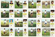 Lote de 16 cromos de futbol album 1973/74 FHER: R. Zaragoza (Equipo completo)