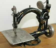 More details for antique victorian willcox & gibbs m co vintage sewing machine for restoration