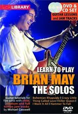 LEARN PLY BRIAN MAY SOLO GTR DVD/CD; May, Brian, Default setting, FMW - RDR0319