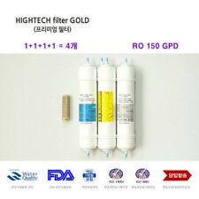 4 pcs Coway CHP-06E Water Purifier Replacement Filter Fresh High Tech_IU