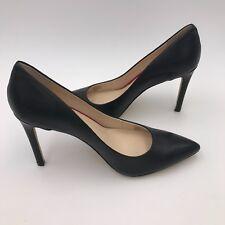 Banana Republic Women's Ninah Black Leather Pump Shoes 9.5 9 1/2
