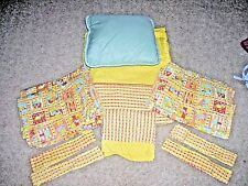 Ikea 11 piece Toddler Bedding Set Cat Dog House Primary Colors 14772 Curtains