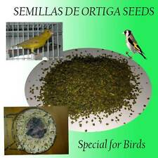 0.7oz Of Nettle Canaries Goldfinches Parakeets Diamonds Food Birds Seeds