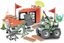 NEW Cobi Brick Model Kit ✔ Kids Small Army Combat Training ✔ COB02164 ✔ 3+ Year