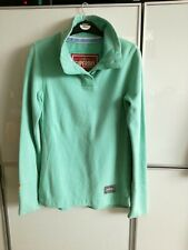 Superdry Sweatshirt Size Small  Pale Green