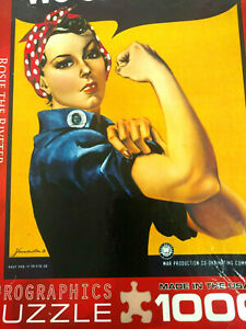 1000 Piece Eurographics Jigsaw Puzzle Rosie The Riveter We Can Do It