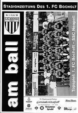 02.08.1995 1. FC Bocholt - SSC Neapel / Napoli