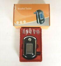 Breath Alcohol Tester Digital LCD Display Breathalyzer Blood Alcohol Detector