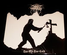 Darkthrone: Too Old Too Cold LP Black Vinyl Record 2014 Peaceville Germany NEW