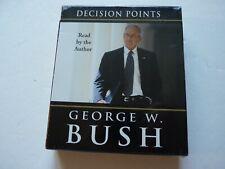 Decision Points by George W. Bush (2010, 6 CDs, Abridged) NEW SEALED
