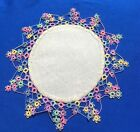 +Rare++Antique++Handmade+Tatting+Tatted++Lace+Doily+