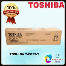 Genuine Toshiba T-fc55-y Yellow Toner Cartridge Estudio 5520ct 6520ct 6530ct