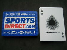 Deck of Poker. Advertising Sports Direct
