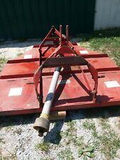 6' international  mower 3 point hitch