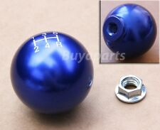 Blue aluminum 5 speed Gear Shifter KNOB 10x1.5 For Manual Transmission M/T Stick
