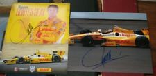 2 Ryan Hunter-Reay 2014 Indianapolis 500 Champ SIGNED 8X10 Photos Plaque Card