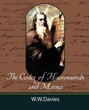 The Codes of Hammurabi and Moses with Copious Comments, Index, and Bible Referen